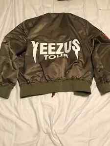 Kanye West Yeezus Tour Bomber Jacket 150$!! yeezy