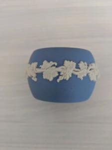 Six pcs Wedgwood Blue Jasperware 6 pcs