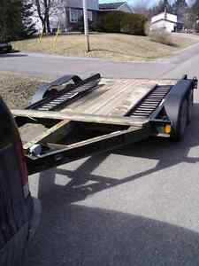 Homemade trailer heavy duty