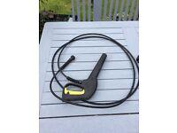 Karcher K2 hand gun & 3 m hose. Used, very good condition