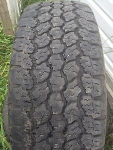 Goodyear wrangler a/t with Kevlar 265/70/17