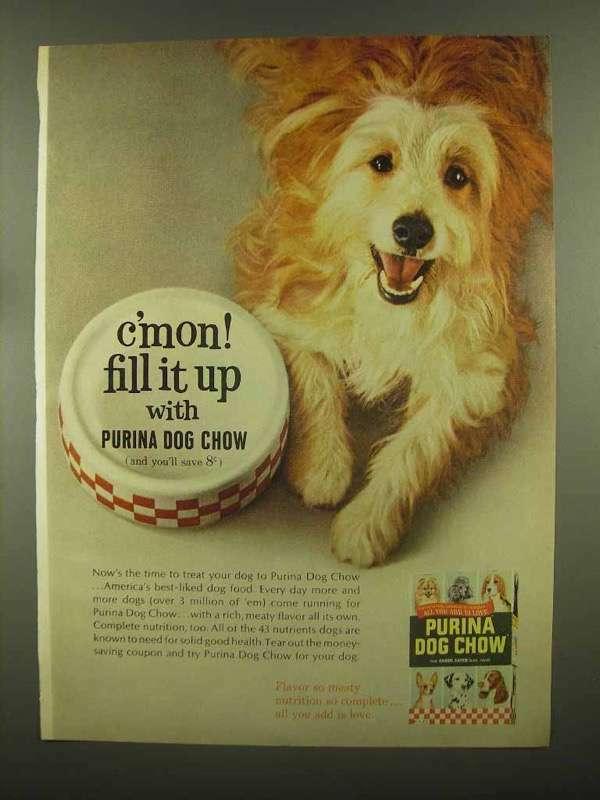 1965 Purina Dog Chow Ad - C