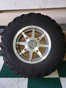 Tires and Rims from Polaris Sportsman
