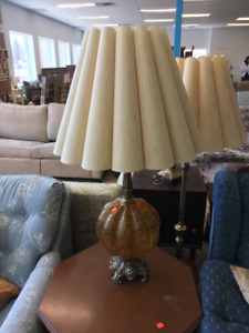 Matching Table and Floor lamps - together $170