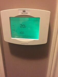 Honeywell touchscreen thermostat and Siemens EQ breakers