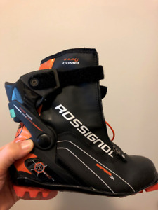 Rossignol X-IUMj COMBI junior cross country ski boot size 38