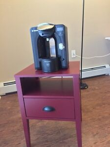 Coffee maker with table!