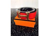 Men's Hermes Belt Brand New Boxed