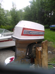 Outboard motors. 115 and 85