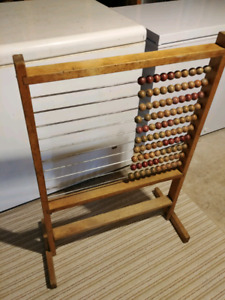 School House Decor-Abacus