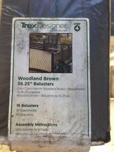 "TREX COMPOSITE DECK 36.25"" BALUSTER KIT"