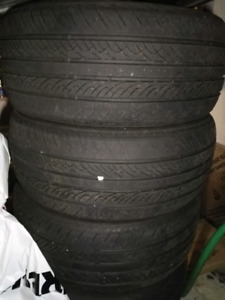 5 tires. Antares Ingens A1  195/50/15