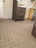 Exceptional Services for Flooring & Tiling! $5.00/sq ft