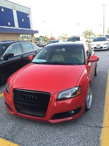 Showroom condition Stanced Audi A3 2009