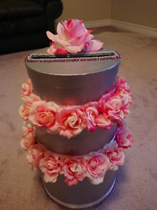 Wedding 3 Tier Card/Money Box (Can be used for baby showers)