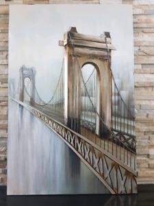 "London Bridge painting - 39"" x 59"""