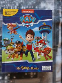 Paw Patrol Busy Book