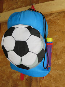 kids sleeping bag with accessories