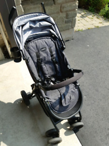 Stroller/baby seat with base set