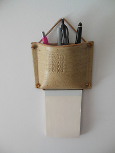 Notepad and Pen Holder