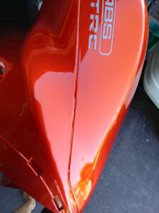 2014 ZX14R Orange and Black  Chinese Fairings