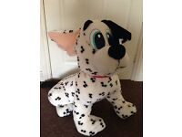 Very large Dalmation soft toy
