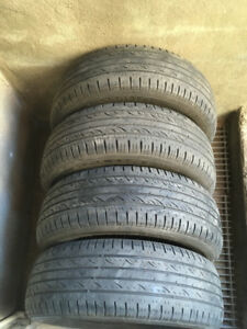 4 PNEUS / 4 ALL SEASON TIRES 205/60/16 KUMHO SOLUS