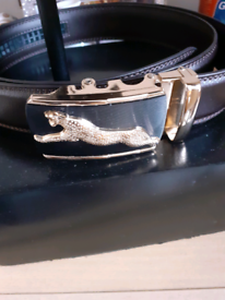 Panther Head Desk Ornament and belt