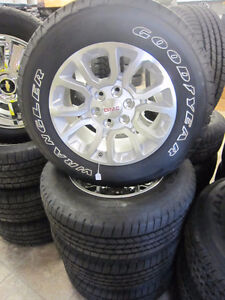 GMC 18'' wheels and tires