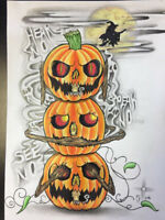 This pumpkin Tattoo is still available!