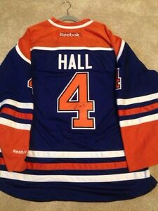 Signed Taylor hall jersey