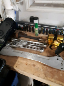 99-00 civic ASR subframe brace and skunk 2 rear lcas