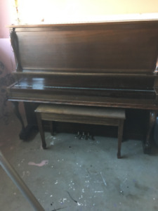 PIANO,    Upright  - Henry Herbert  Made By Mason and Risch