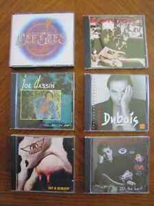 CD Musique divers Bee Gees Bon Jovi Joe Dassin Dubois