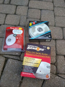 Smoke detectors - unused
