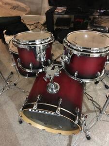 Ludwig Drum set and cymbals