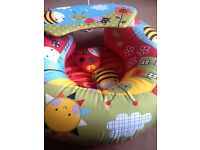 Red kite sit me up inflatable ring