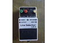 Boss line selector LS-2