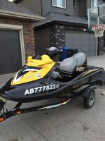 Seadoo RXT 215 horse super charged 3 seater