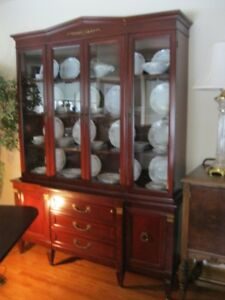 CHOICE OF VINTAGE @ ANTIQUE DISPLAY CABINETS