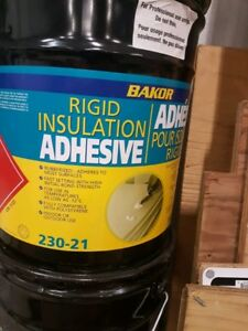 Bakor rigid insulation adhesive