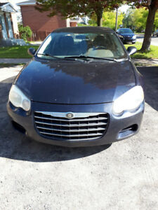 Chrysler sebring, A qui la chance??