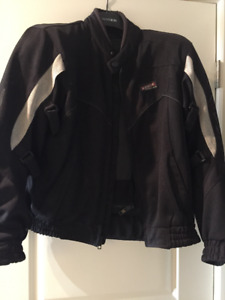 Men's Motorcycle Jacket and Pants with removable lining