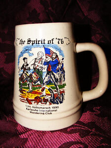 "The Spirt of 76"" Porcelain Mug"