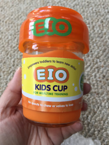 New EIO Glass Kids Cup orange