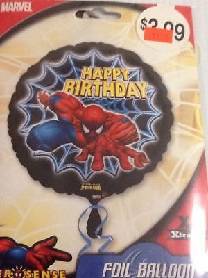 Happy birthday spiderman