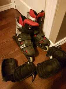 Rollers Blades, Elbow and Knee Pads