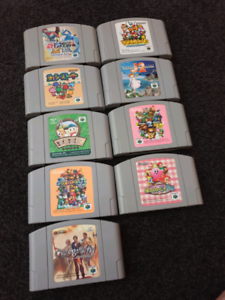 N64 japanese title's