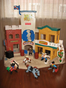 Little people  building (western town)