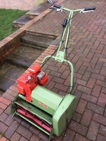 Hayter 20 petrol cylinder mower. Great condition